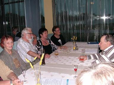 Illanviettoa Hotelli Meren ravintolassa